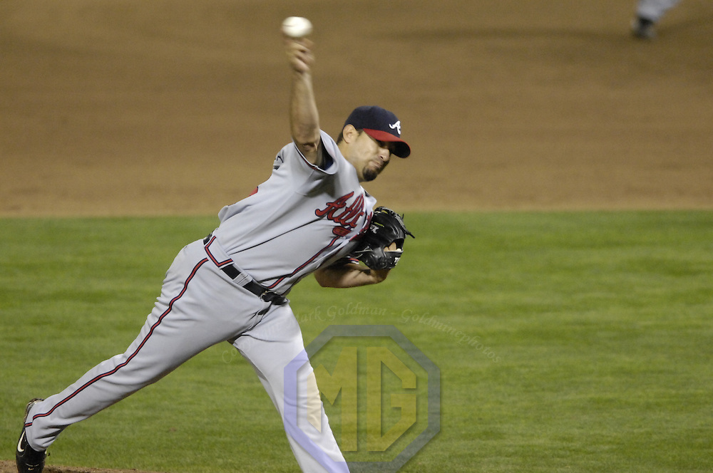16 May 2007: Atlanta Braves pitcher Kyle Davies (26) in action against the Washington Nationals.  The Nationals defeated the Braves 6-4 at RFK Stadium in Washington, D.C.  ****For Editorial Use Only****