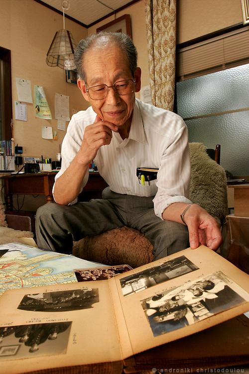 Dr HIROSHI MARUYA. Hiroshima A-Bomb survivor. Honorary doctor of Kyoritsu Hospital and poet.