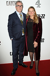 May 15, 2019 - London, United Kingdom - Luke Davies and Ellen Kuras attend the Catch 22 - TV Series premiere at the Vue Westfield, Westfield Shopping Centre, Shepherds Bush (Credit Image: © Keith Mayhew/SOPA Images via ZUMA Wire)