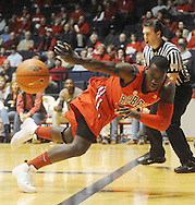 "Mississippi's Eniel Polynice  vs. LSU at the C.M. ""Tad"" Smith Coliseum on Thursday, March 4, 2010 in Oxford, Miss. Ole Miss won 72-59."