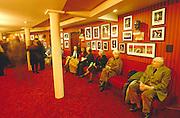LONDON, ENGLAND..Covent Garden, Royal Opera House. Memorabilia at the Foyer..(Photo by Heimo Aga)