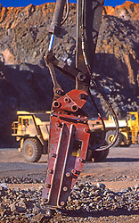 Mining Close up Drilling