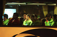 20120227: WARSZAWA, POLAND - Portugal players go out of Sheraton Hotel and drive for an evening workout in Warszawa, Poland.<br /> PHOTO: CITYFILES