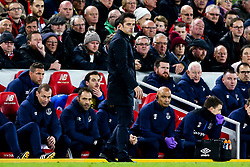 Everton manager Marco Silva cuts a frustrated figure - Mandatory by-line: Robbie Stephenson/JMP - 02/12/2018 - FOOTBALL - Anfield - Liverpool, England - Liverpool v Everton - Premier League