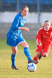 SKELMERSDALE, ENGLAND - Sunday, December 14, 2008: Birmingham City's 8 xxxx during the Women's FA Premier League match against Liverpool at the Ashley Travel Stadium. (Photo by David Rawcliffe/Propaganda)