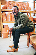 Imelda's and Louie's Shoes for Men - 2017 Spring lookbook at Portland Nursery. Photo by Jason Quigley