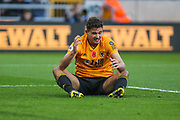 Leander Dendoncker of Wolverhampton Wanderers during the Premier League match between Wolverhampton Wanderers and Aston Villa at Molineux, Wolverhampton, England on 10 November 2019.