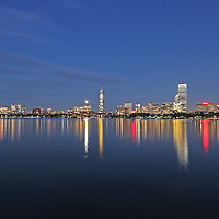 Boston night photography featuring iconic skyscrapers and 3 of the tallest buildings in Boston such as the Millennium Tower, Prudential Center and 200 Clarendon better known as the John Hancock Tower. The Millennium Tower with its nickname Millie, is located at Downtown Crossing and is the latest Boston urban architecture skyline addition. This Boston skyline photography image at twilight is available as museum quality photography prints, canvas prints, acrylic prints or metal prints. Fine art prints may be framed and matted to the individual liking and decorating needs:<br />  <br /> http://juergen-roth.pixels.com/featured/boston-tallest-skyscrapers-juergen-roth.html<br /> <br /> All Boston photos are available for digital and print photography image licensing at www.RothGalleries.com. Please contact me direct with any questions or request.<br /> <br /> Good light and happy photo making!<br /> <br /> My best,<br /> <br /> Juergen<br /> Prints: http://www.rothgalleries.com<br /> Photo Blog: http://whereintheworldisjuergen.blogspot.com<br /> Instagram: https://www.instagram.com/rothgalleries<br /> Twitter: https://twitter.com/naturefineart<br /> Facebook: https://www.facebook.com/naturefineart