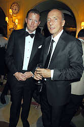 Left to right, the HON.NAT ROTHSCHILD and PETER SIMON at a dinner hosted by fashion label Issa at Annabel's, Berekely Square, London on 24th April 2007.<br />