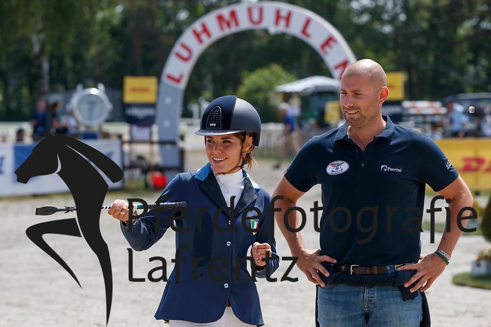 Casiraghi, Clelia (ITA), <br /> Luhmühlen - CCI4Sterne/CIC3Sterne Deutsche Meisterschaft 2017<br /> © Stefan Lafrentz