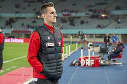 March 21, 2019 - Vienna, Austria - Arkadiusz Milik of Poland during the UEFA European Qualifiers 2020 match between Austria and Poland at Ernst Happel Stadium in Vienna, Austria on March 21, 2019  (Credit Image: © Andrew Surma/NurPhoto via ZUMA Press)