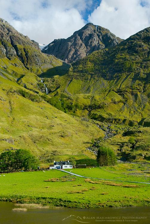 Farm house in Glen Coe Scotland