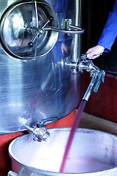 Tanques de aço para armazenamento de vinho  no curso de enologia no CEFET (Centro Federal de Educação Tecnológica) de Bento Gonçalves, a 120 km de Porto Alegre.  Único do Brasil na área. FOTO: Jefferson Bernardes/Preview.com