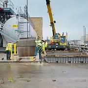 Duct bank work near the methanol tanks at Blue Plains WWTP in Washington DC.