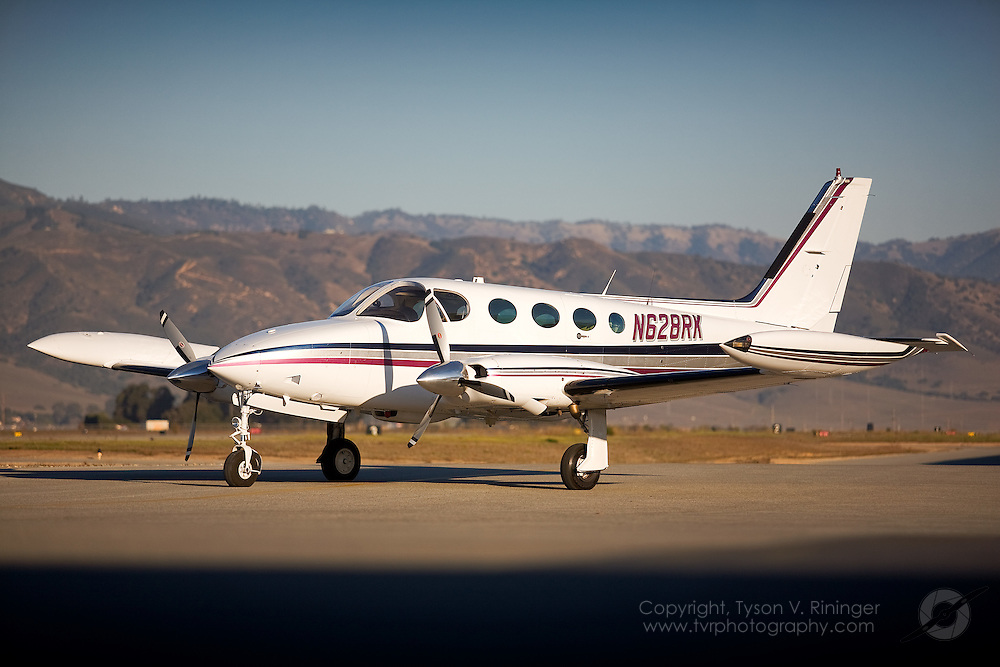 Brokerage shoot of a Cessna 340