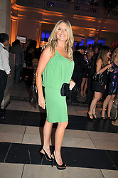 TINA HOBLEY at the F1 Party in aid of the Great Ormond Street Hospital Children's Charity held at the V&A, Londonon 17th June 2009.