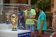 Coppa del Mondo: esposizione dei trofei a Palermo