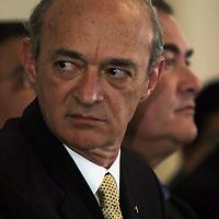 Queretaro, Qro.- Fernando Elizondo al termino de la Convencion Nacional Hacendaria. Foto: Mario Vazquez de la Torre.