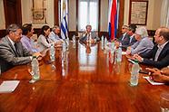 Ruralistas reunidos con Vazquez