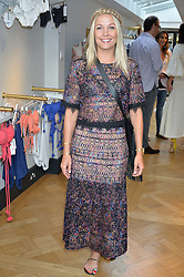 CAROLINE FLEMING at the launch of the new Salt store at 91 Walton Street, London on 7th July 2016.