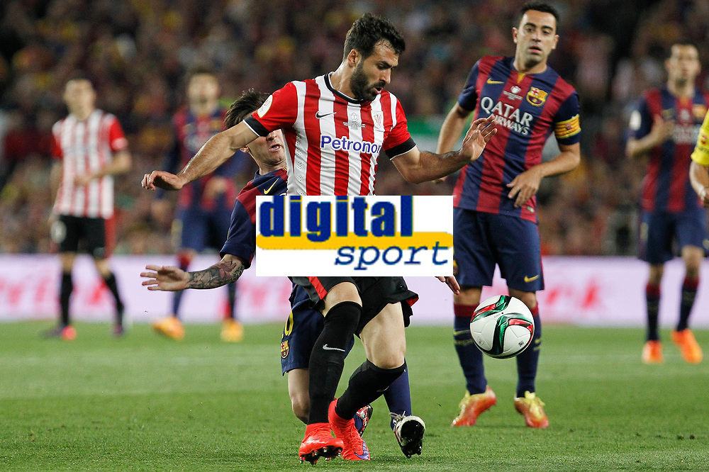 Athletic de Bilbao´s Mikel Balenziaga during 2014-15 Copa del Rey final match between Barcelona and Athletic de Bilbao at Camp Nou stadium in Barcelona, Spain. May 30, 2015. (ALTERPHOTOS/Victor Blanco)