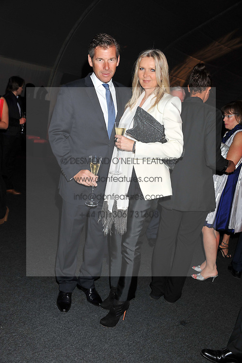 AMANDA WAKELEY and HUGH MORRISON at the inaugural Gabrielle's Gala in London in aid of Gabrielle's Angel Foundation for Cancer Research held at Battersea Power Station, London on 7th June 2012.