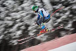 21.02.2013, Kandahar, Garmisch Partenkirchen, AUT, FIS Weltcup Ski Alpin, Abfahrt, Herren, 1. Training, im Bild Travis Ganong (USA) // Travis Ganong of the USA in action during 1st practice of the  mens Downhill of the FIS Ski Alpine World Cup at the Kandahar course, Garmisch Partenkirchen, Germany on 2013/02/21. EXPA Pictures © 2013, PhotoCredit: EXPA/ Johann Groder