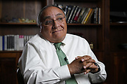 Mississippi Center For Justice -Koch Foods Morton and Forest Mississippi. Interview at Bank of Morton with Tito  Echiburu and Father Roberto Mean in Forest at St. Michael's Catholic Church and meeting at St. Michael's Parish.   Photo ©Suzi Altman