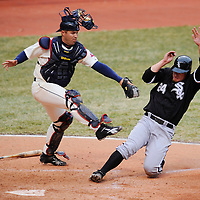 3.31.2008 Chicago White Sox at Cleveland Indians