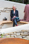 Miles Stone: The Kingston Maurward garden by Michelle Brown (pictured) - Press preview day at The RHS Chelsea Flower Show.