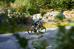 Emilie Moberg (NOR) during Ladies Tour of Norway 2019 - Stage 3, a 125 km road race from Moss to Halden, Norway on August 24, 2019. Photo by Sean Robinson/velofocus.com