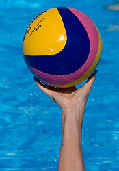 Ball at Women Waterpolo match between National Teams of Nederlands and New Zeland at 13th FINA World Championships Rome 2009, on July 25 2009, at Foro Italico, Rome, Italy. (Photo by Vid Ponikvar / Sportida)