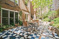 Patio Garden at 331 West 71st Street