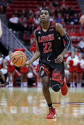 05 November 2017:  Dre Bell during aLewis College Flyers and Illinois State Redbirds in Redbird Arena, Normal IL