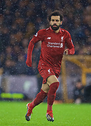 WOLVERHAMPTON, ENGLAND - Friday, December 21, 2018: Liverpool's Mohamed Salah during the FA Premier League match between Wolverhampton Wanderers FC and Liverpool FC at Molineux Stadium. (Pic by David Rawcliffe/Propaganda)