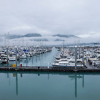 A general overview of the Seward Marina in Seward, Alaska, on Thursday, August 4, 2016. (Alex Menendez via AP)