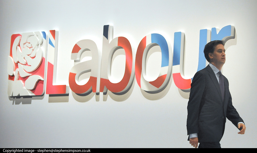 © Licensed to London News Pictures. 26/09/2011. LONDON, UK. Ed Miliband leader of the Labour Party at The Labour Party Conference in Liverpool today (26/09/11). Photo credit:  Stephen Simpson/LNP