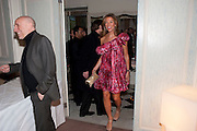 BRIAN CLARKE; HEATHER KERZNER, Dinner to mark 50 years with Vogue for David Bailey, hosted by Alexandra Shulman. Claridge's. London. 11 May 2010