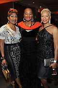 NEW YORK, NEW YORK- FEBRUARY 11: (L-R) Joycelyn Taylor, Susan Taylor and Chandra McQueen attend the National CARES Mentoring Movement 'FOR THE LOVE OF OUR CHILDREN' Gala Inside held at the Zeigfeld Ballroom on February 11, 2019 in New York City.  (Photo by Terrence Jennings/terrencejennings.com)
