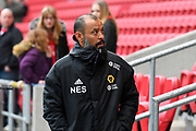 Wolverhampton Wanderers manager Nuno Espirito Santo before the The FA Cup 5th round match between Bristol City and Wolverhampton Wanderers at Ashton Gate, Bristol, England on 17 February 2019.