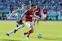 20111030: PORTO ALEGRE, BRAZIL - Football match between Gremio and  Flamengo teams held at the Sao januario. In picture Thiago Neves<br /> (Flamengo) and Adilson (Gremio)<br /> PHOTO: CITYFILES
