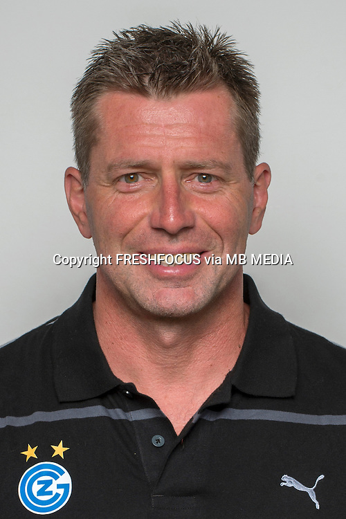 15.07.2014; Niederhasli; Fussball Super League – Portrait Grasshopper Club Zuerich; Trainer Michael Skibbe (GC) (Claudia Minder/freshfocus)