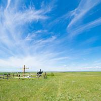 montana prairie grave site