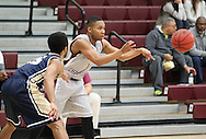 December 16, 2014: The St. Edward's University Hilltoppers play against the Oklahoma Christian University Eagles in the Eagles Nest on the campus of Oklahoma Christian University.