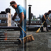 Magazine layout in National Geographic Magazine<br />