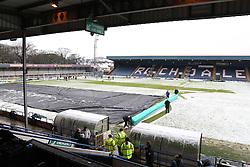 General view of Spotland Stadium before kick off - Photo mandatory by-line: Matt McNulty/JMP - Mobile: 07966 386802 - 17.01.2015 - SPORT - Football - Rochdale - Spotland Stadium - Rochdale v Crawley Town - Sky Bet League One