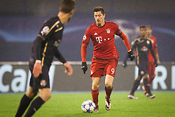 Robert Lewandowski #9 of FC Bayern Munchen during football match between GNK Dinamo Zagreb and Bayern München in Group F of Group Stage of UEFA Champions League 2015/16, on December 9, 2015 in Stadium Maksimir, Zagreb, Croatia. Photo by Ziga Zupan / Sportida