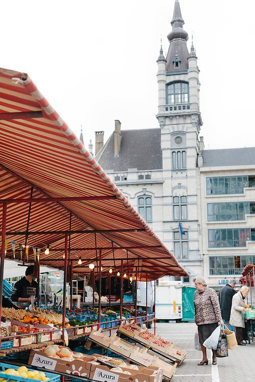 Market, Charleroi
