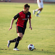 18 August 2018: The San Diego State men's soccer team plays an exhibition match against Pt. Loma Nazarene Saturday<br /> evening and won 1-0 on a goal by Robby Jacobs in the second half.