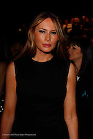 Melania Trump at Michael Kors - during Mercede's Benz Fashion Week Spring 2010 on September 13, 2009. ..